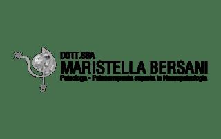 Supporto grafico per il logo, realizzazione sito per Maristella Bersani