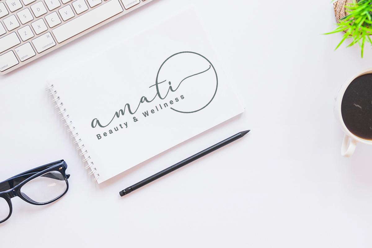 Realizzazione logo professionale Amati Beauty & wellness