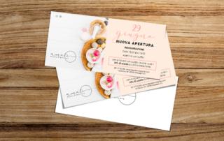 Realizzazione e stampa flyer Amati Beauty & Wellness