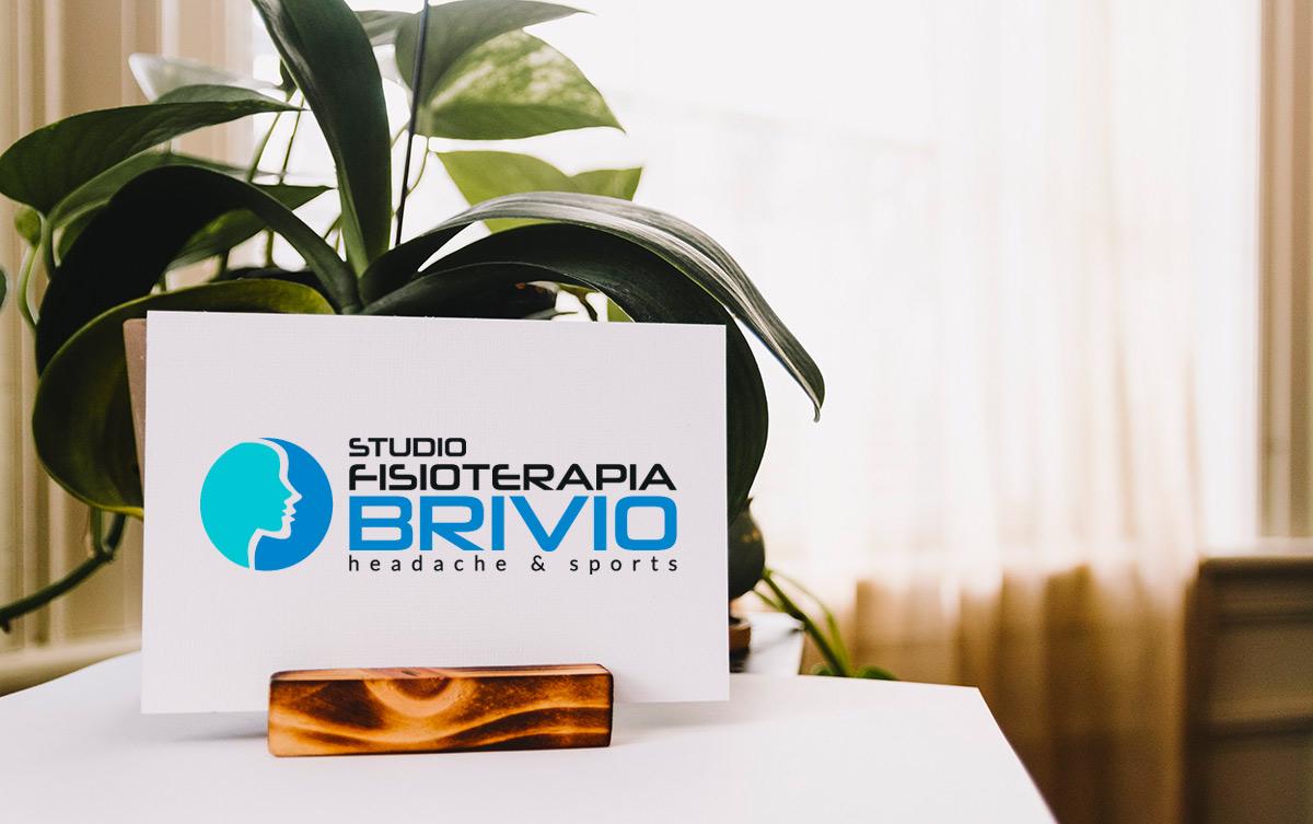 Realizzazione logo professionale Studio Fisioterapia Brivio