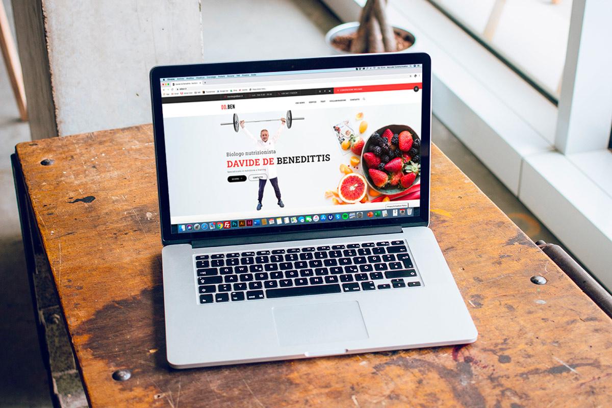 Sviluppo sito internet professionale DDBen