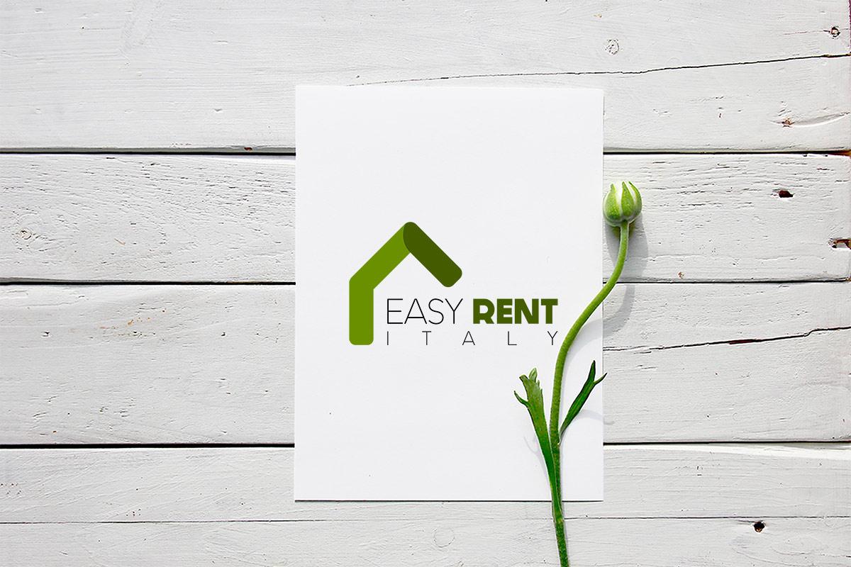 Ideazione, realizzazione e sviluppo del logo professionale Easy Rent Italy