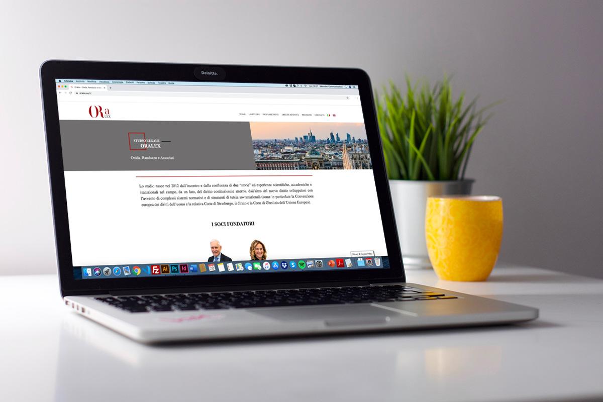 Realizzazione sito professionale wordpress Oralex - Studio Legale