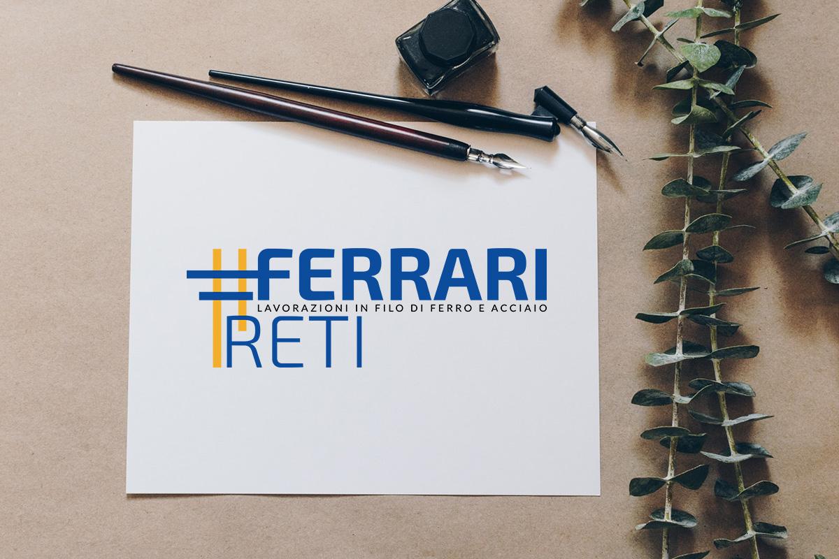 Realizzazione logo professionale Ferrari reti