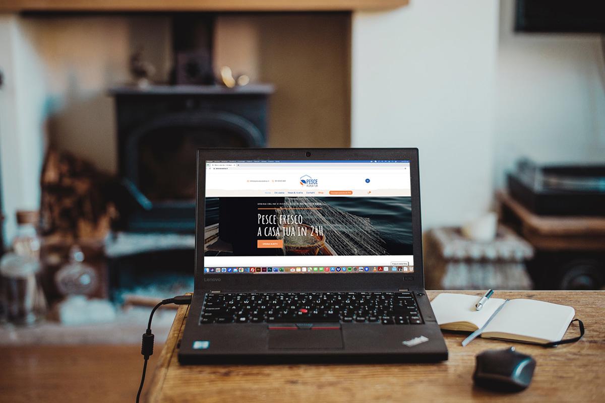 Realizzazione sito professionale Pesce a casa tua