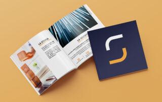 Realizzazione brochure corporate Sa-te