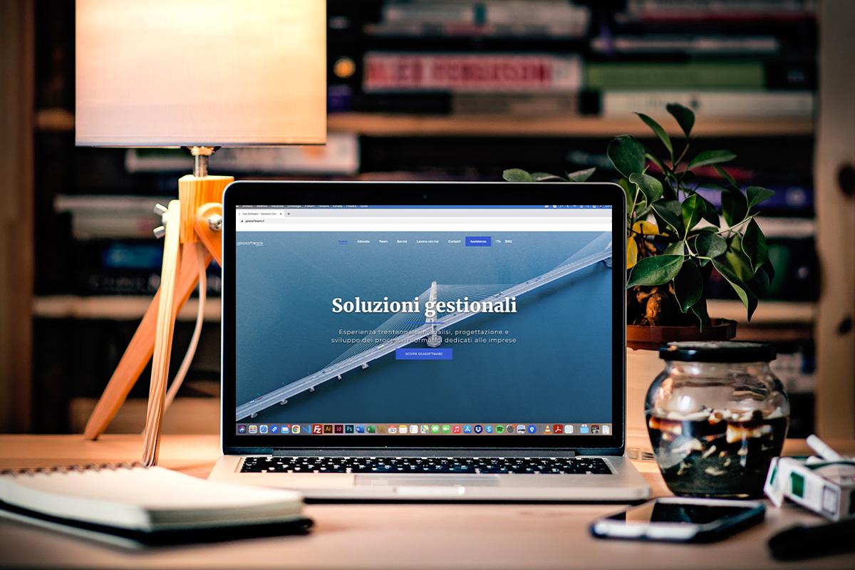 Realizzazione sito professionale GeaSoftware