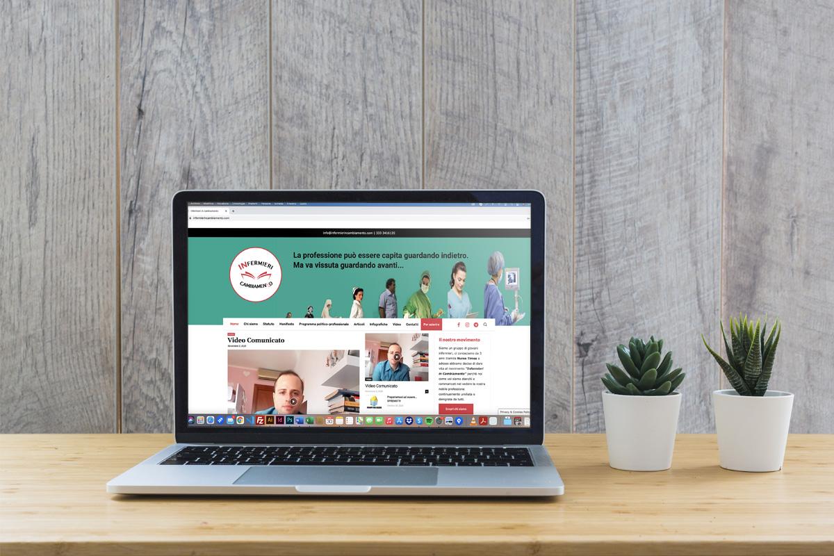 Realizzazione sito professionale Infermieri in Cambiamento
