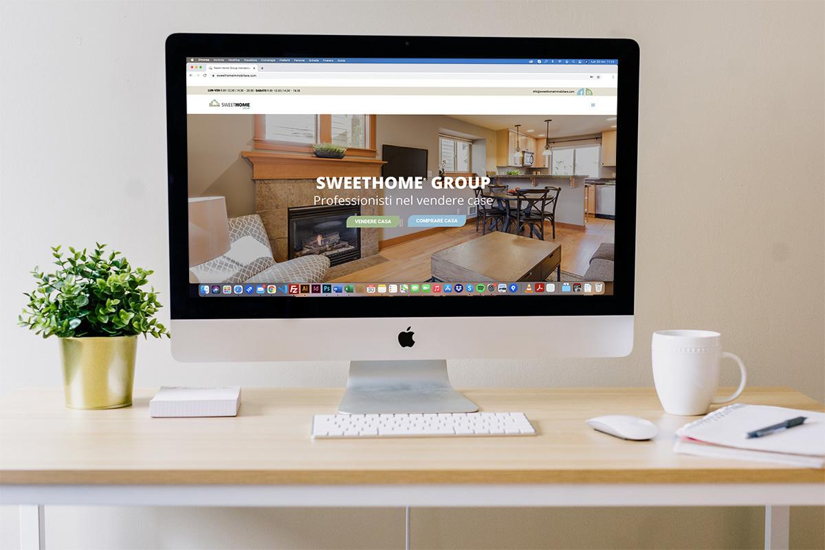 Realizzazione sito professionale SweetHome Group