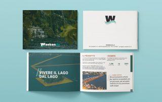 Realizzazione grafica brochure Weeken-do
