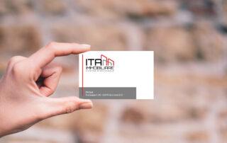 Logo e sviluppo biglietto da visita Immobiliare ITA