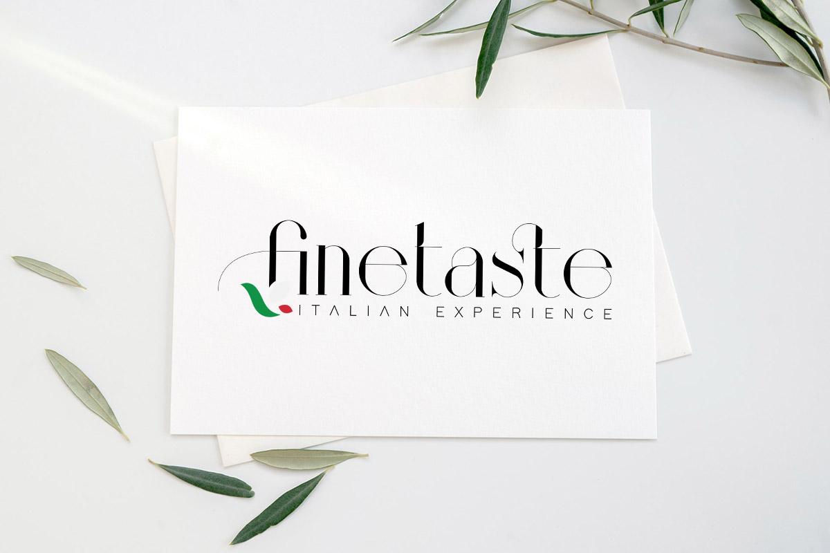 Realizzazione logo professionale Finetaste