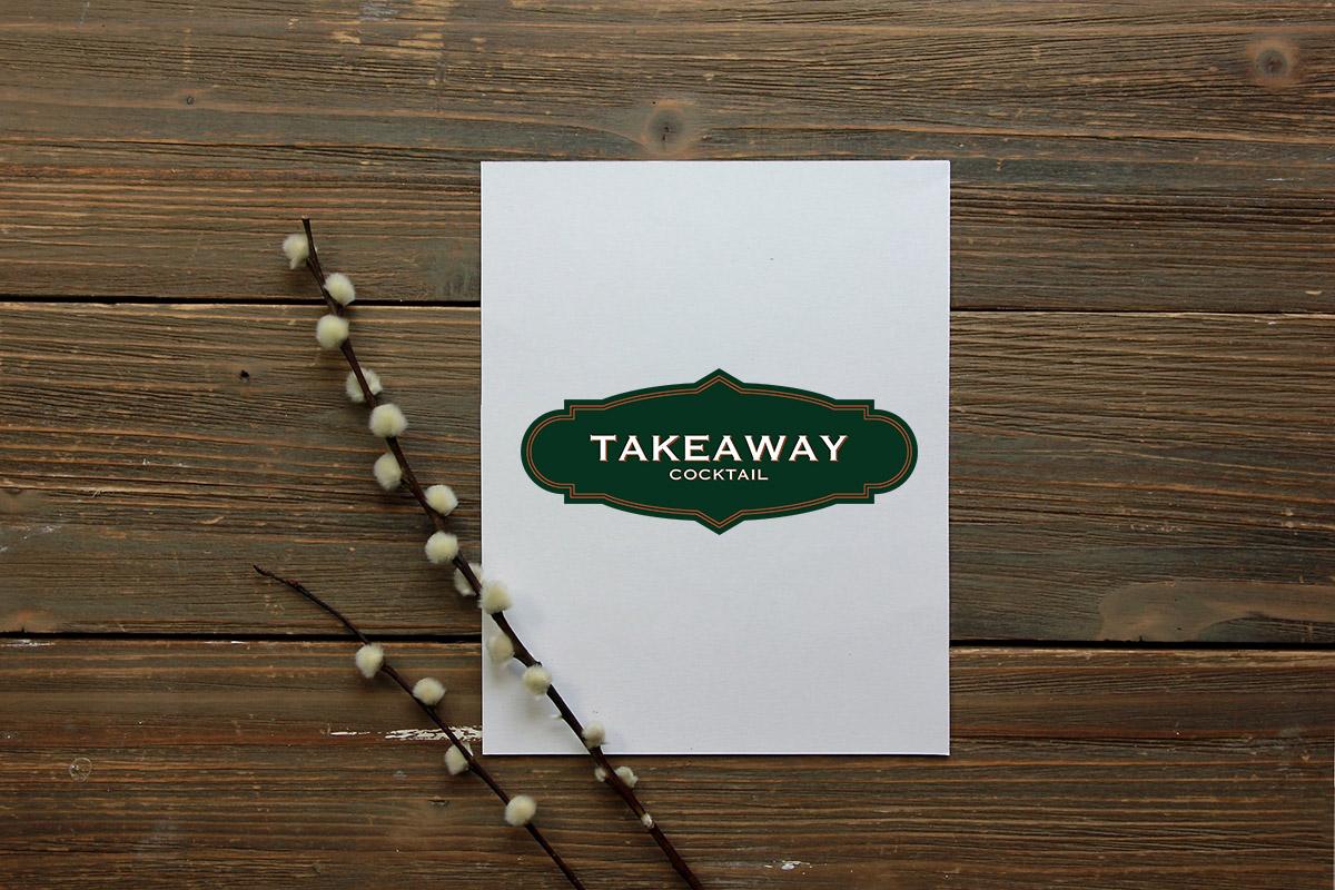 Realizzazione logo professionale Takeaway Cocktail